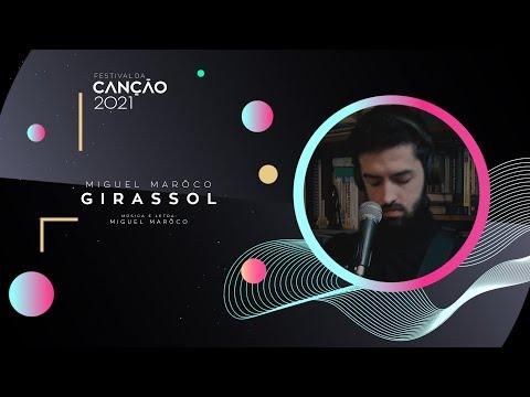Miguel Marôco - Girassol (Lyric Video) | Festival da Canção 2021