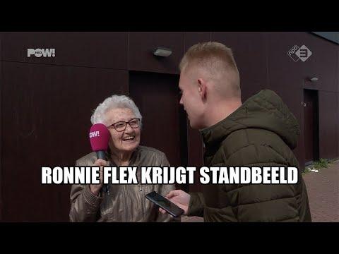 Ronnie Flex krijgt standbeeld