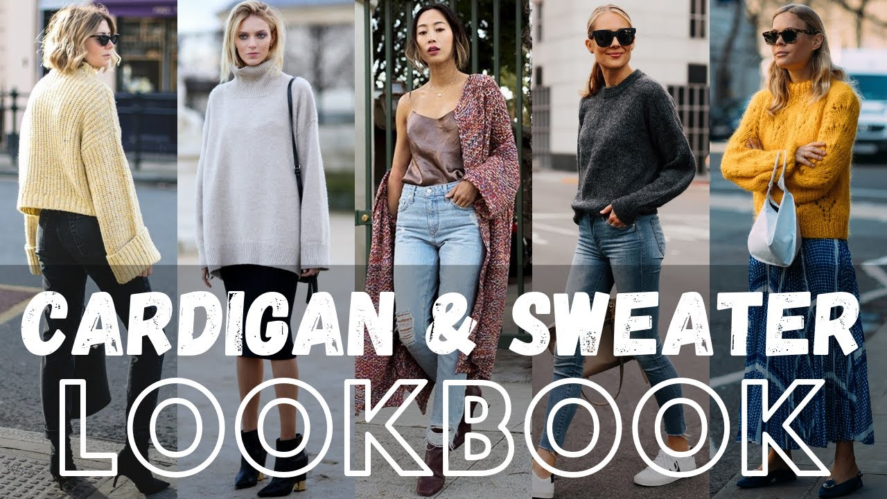 Trendy Autumn Cardigan Outfit Ideas Lookbook 2019 | Sweater Outfit Ideas Womens