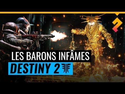 Destiny 2 Renégats  Qui sont les Infâmes et les Barons ? Lore Déchus