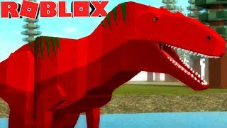 Mondo Primordiale (Roblox) - Mondo dei dinosauri, Battaglie Giurassiche! -(#1) (Gioco EN-BR)