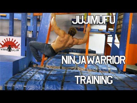 Jujimufu Ninjawarrior training at Ninjakour