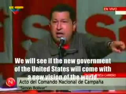 Hugo Chavez, on GAZA (2009)