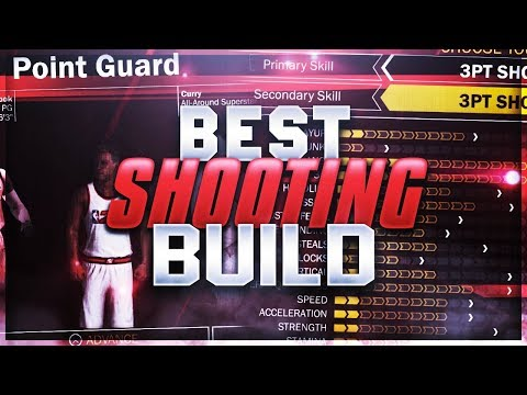 NBA 2K18 Tips: BEST 99 OVERALL SHOOTING BUILD!! HOW TO SHOOT IN NBA 2K18 EFFECTIVELY!