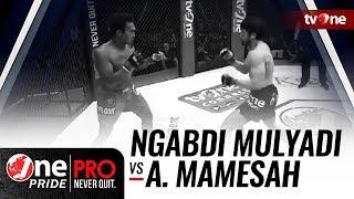 [HD] Ngabdi Mulyadi vs Andicka Mamesah || One Pride Pro Never Quit #24