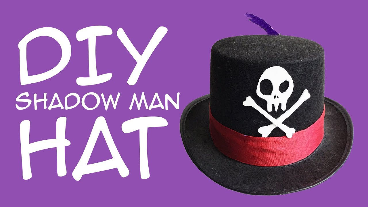 Diy Shadow Man Hat For Dr Facilier Disneybounding