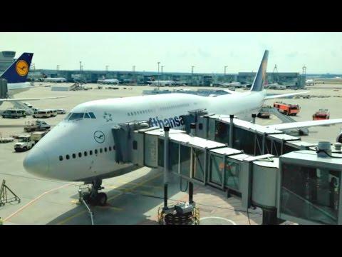 FLIGHT TRIP REPORT | Lufthansa | Boeing 747-800 | New York JFK - Frankfurt | Economy Class | ✈