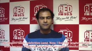 93.5 RED FM RJ Harshil Speaks on Special Cover on Sachin Tendulkar which he signed Personally