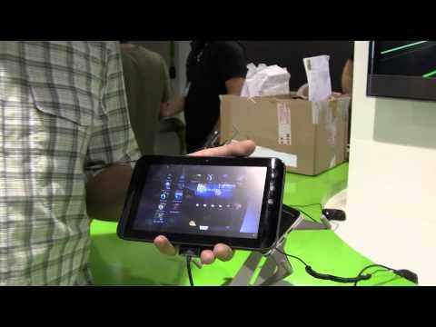 Dell Streak 7 mit Android 3.2 Honeycomb Kurztest auf der IFA 2011
