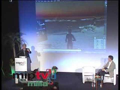 Philip Rosedale at MIPTV 2007