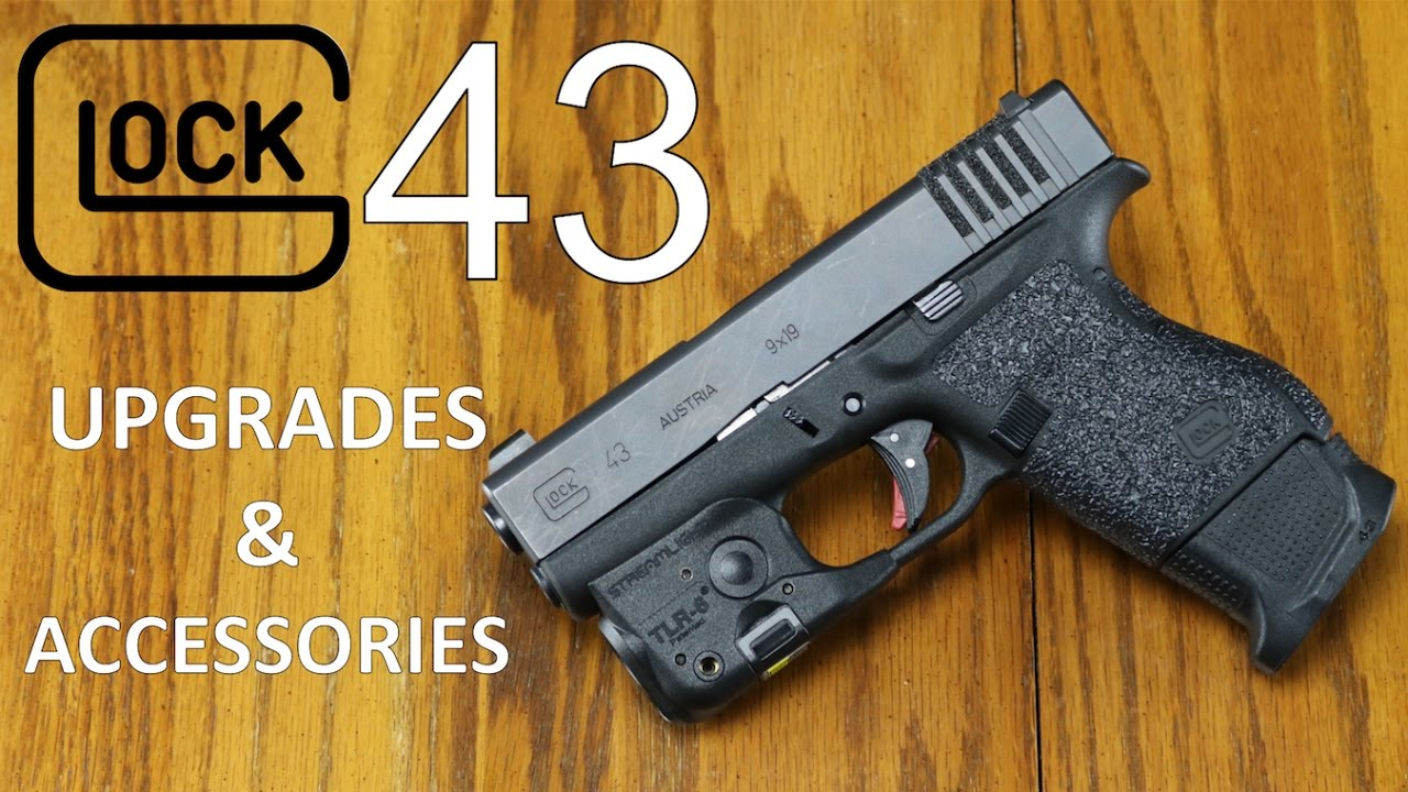 Glock 43 Accessories & Upgrades - YouTube