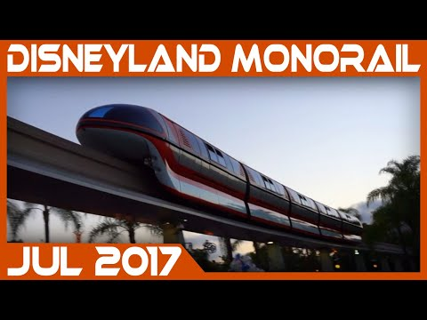 Disneyland Monorail 2017