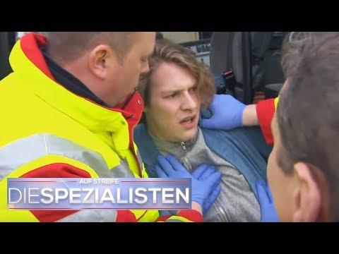 Junge hat krasse Halluzinationen und springt vom Dach | Oliver Dreier | Die Spezialisten | SAT.1 TV