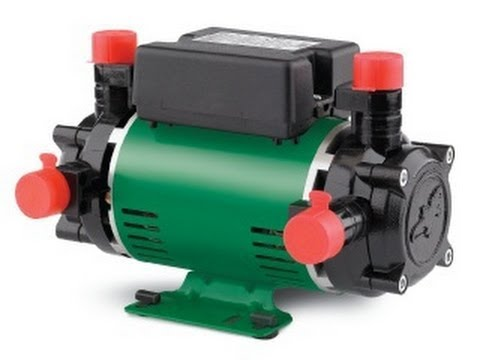 What is a twin impeller shower pump