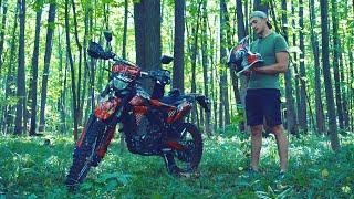 Купил мотоцикл ЭНДУРО. Продал AUDI. Что дальше?