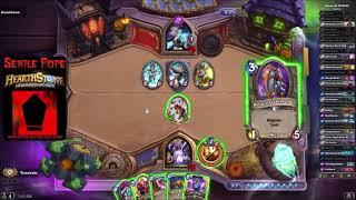 Hearthstone BDP: Dual Arena - Warlock Priest vs Mage Druid (Season 55 Day 20)