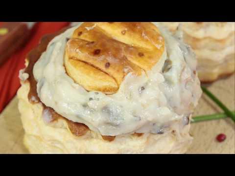 recette-:-croustades-de-cèpes-au-foie-gras-poêlé