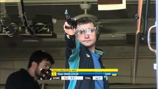 Finals 50m Pistol Men - ISSF Rifle&Pistol World Cup 2013, Fort Benning (USA)