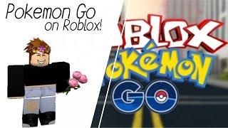 Roblox // POKEMON GO IN ROBLOX??? // W/ Friends!