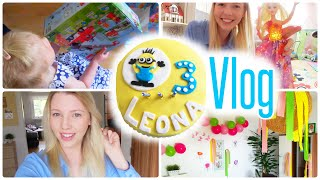 VLOG - 3 GEBURTSTAG | Minion Torte | Geschenke | Familienfeier | Isabeau