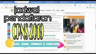Baru  Jadwal Cpns 2019 Dan Pppk Tahap Ii