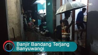Download Video Detik-detik Banjir Bandang Terjang Banyuwangi MP3 3GP MP4