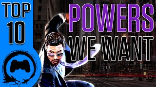 TOP 10: POWERS We Want from Video Games - (TFS) - TeamFourStar