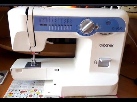 Швейная машина рвет нитку Brother XL 5050