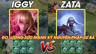 Đo Lường Sức Mạnh Tướng Mới Iggy vs Zata - Kẻ Pháp sư mạnh là ai Liên quân mobile | POT Game TV