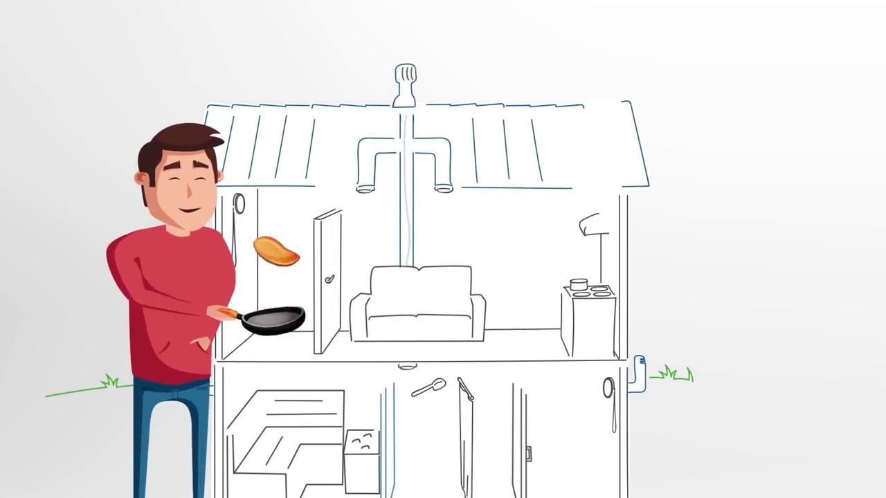 Вентиляция дома, Вентиляция кровли. Вентиляционные решения VILPE . как сделать вентиляцию в доме