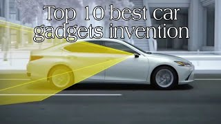 Top 10 best useful car gadgets | Car gadgets | Technology Upgrade