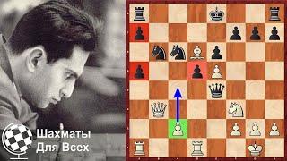 ЖЕРТВА ТРЁХ ПЕШЕК Михаила Таля! Шахматы