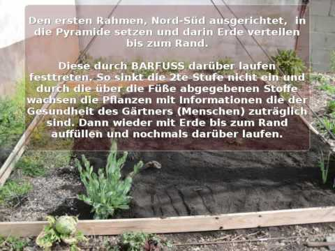 Pyramidenbeet Bauanleitung Pyramid Raised Bed Howto 1 2 Youtube