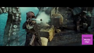 Pirates Of The Caribbean: Dead Man's Chest Hindi : Jack Comeback On Sheep  (13)