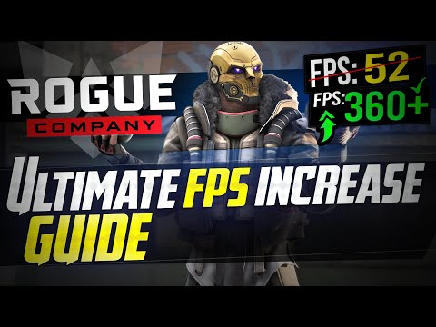 🔧 ROGUE COMPANY: Dramatically Increase Performance / FPS With Any Setup! BOOST FPS