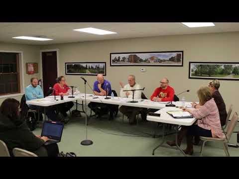 Goodrich Village Council Meeting December 11, 2017
