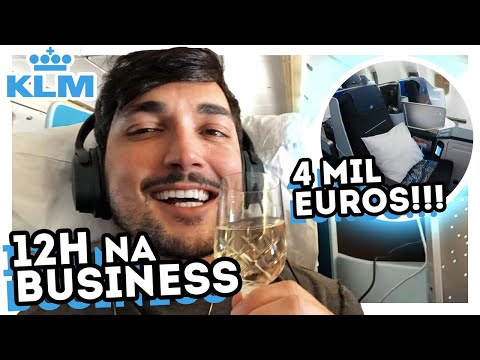 R$18.000,00 PRA VOAR! - TOUR NA CLASSE EXECUTIVA DA KLM - WORLD BUSINESS CLASS BOEING 777 200