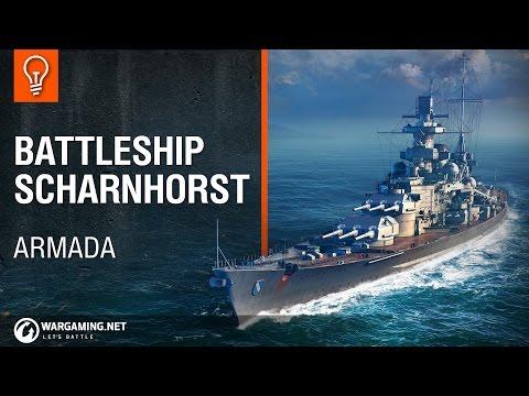 World of Warships - Armada: Scharnhorst