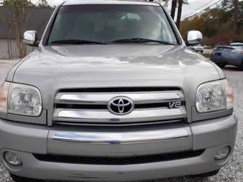 2005 Toyota Tundra DoubleCab V8 SR5 4WD (Natl) (Spartanburg, South Carolina)