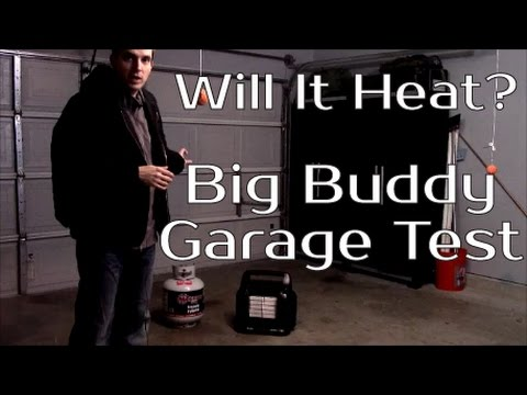 Mr Heater Big Buddy Garage Test - YouTube  sc 1 st  YouTube & Will It Heat? - Mr Heater Big Buddy Garage Test - YouTube