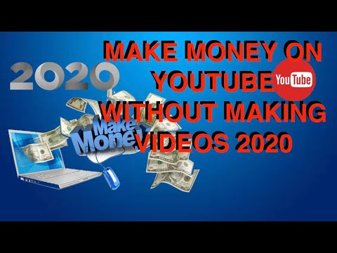 Whats is the best way to make money on youtube and dont make video 👉(2020)