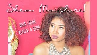 Shea Moisture Hair Color || Bright Auburn Review/Demo