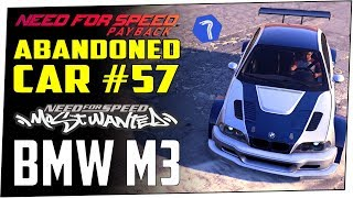 NFS PAYBACK Abandoned Car #57 Location Guide - NFSMW BMW M3 GTR (E46)
