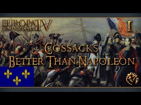 [FR] Europa Universalis IV : The Cossacks - La France - Better Than Napoleon - 1