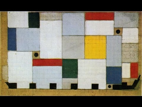 Theo van Doesburg (1883-1931) Dutch artist 特奧·凡·杜斯伯格