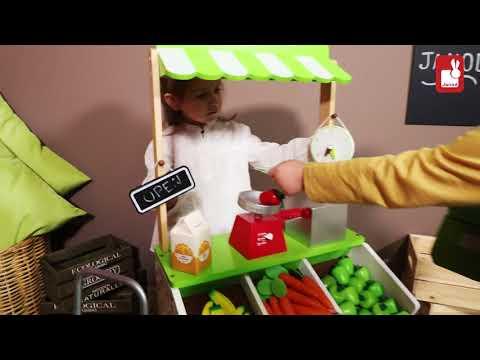 316063948 Drevený obchod pre deti Green Market Janod | Janod hračky