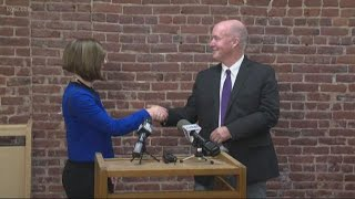 Independent gov. candidate drops out