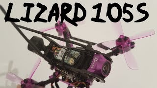 Lizard105S Freestyle Run - 4S mean looking 86g machine - onboard RAW DVR - Eachine