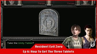 How To Get The Three Tablets In Resident Evil [#06] [LiveStream]