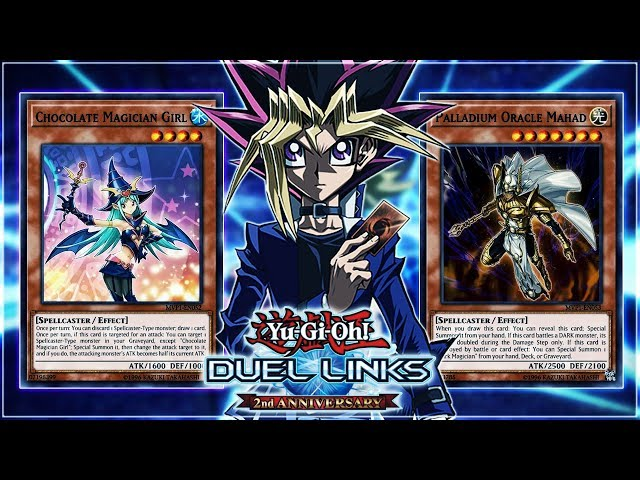 Yu-Gi-Oh! Duel Links | Yugi's New Magician Girl Cards! Dark Side of Dimensions World!